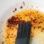 cake lapin huile paprika
