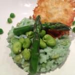 risotto vert assiette 6
