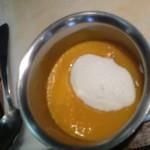 oeuf plat coulis mangue