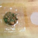 pastilla poulet pliage