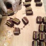 chocolat reglisse taillage